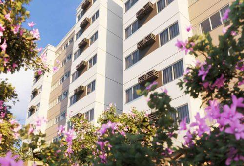 Fachada Lateral Costa do Forte Condomínio Clube
