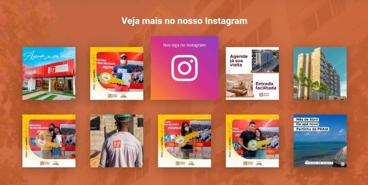 Tenório Simões Construtora Instagram